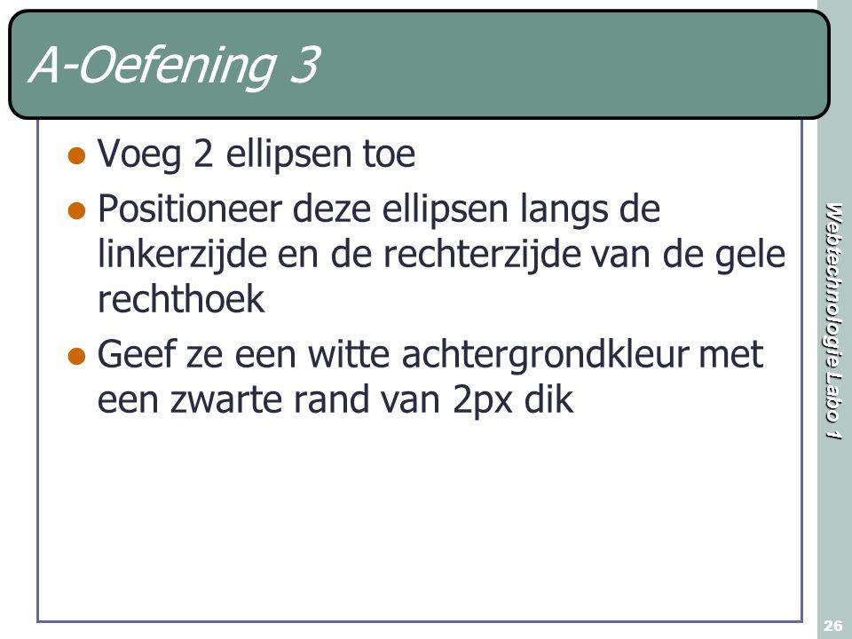 A-Oefening 3 Voeg 2 ellipsen toe