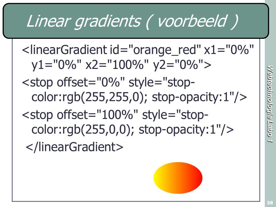 Linear gradients ( voorbeeld )