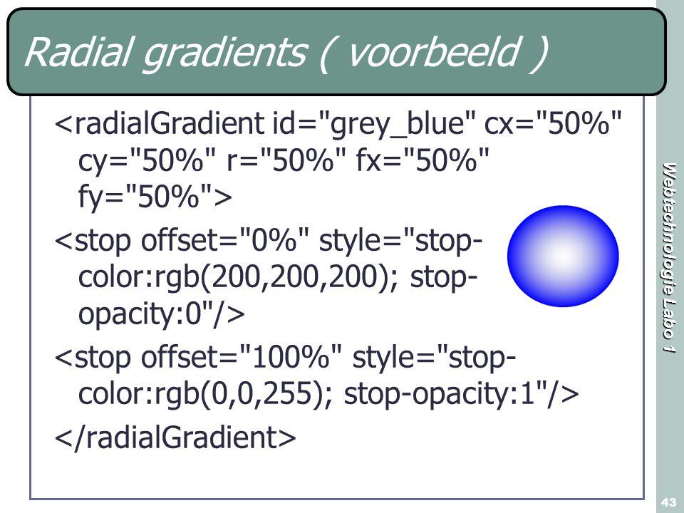 Radial gradients ( voorbeeld )