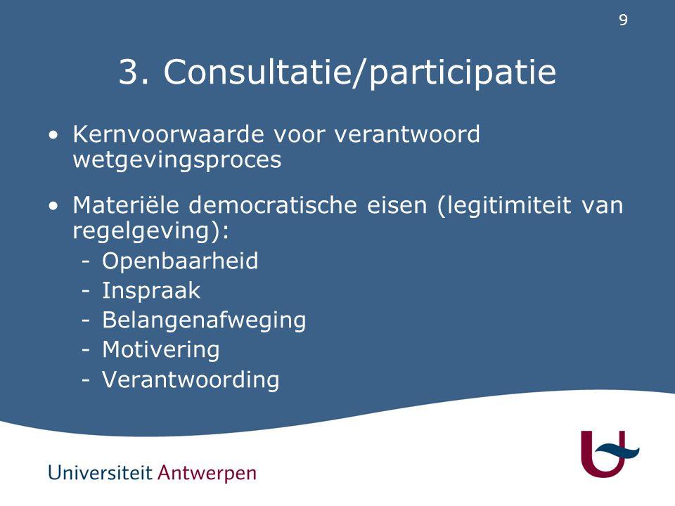 Consultatie/participatie