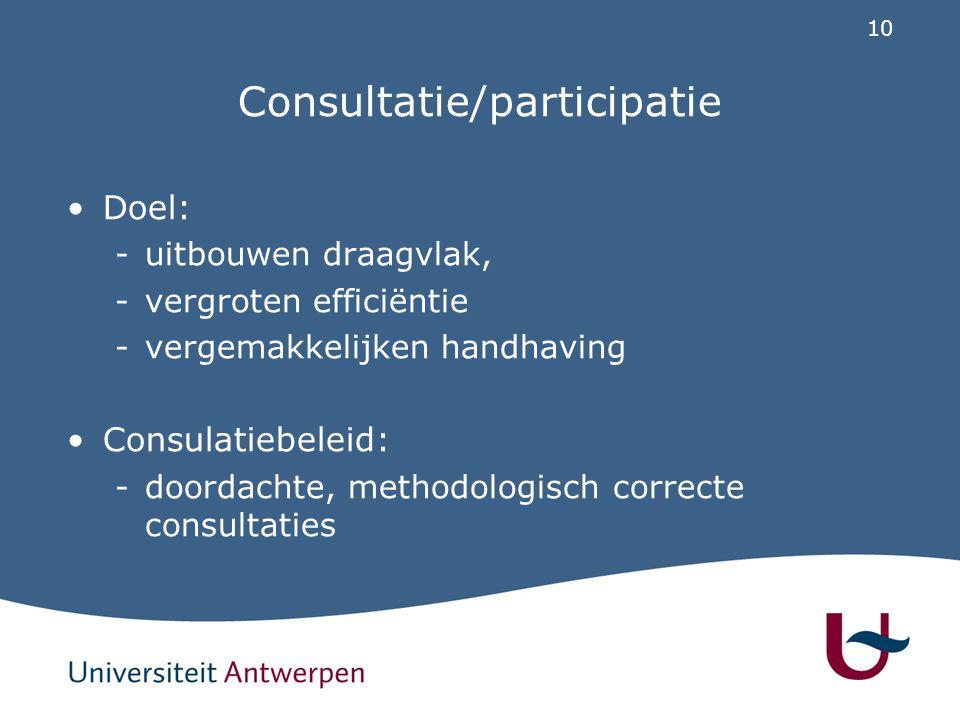 Vlaanderen: 8 kenmerken van goede regelgeving