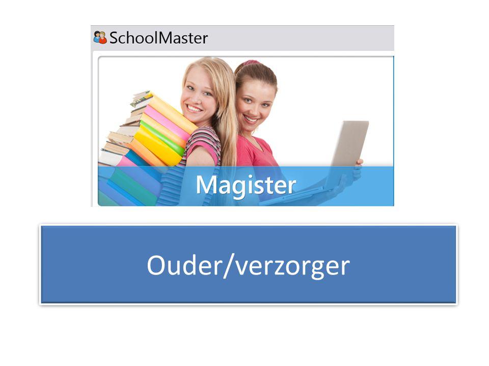 Ouder/verzorger Magister ouder verzorger Ervaren of niet