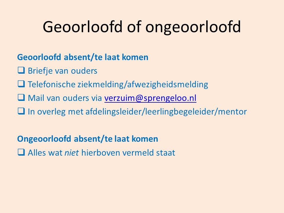 Geoorloofd of ongeoorloofd