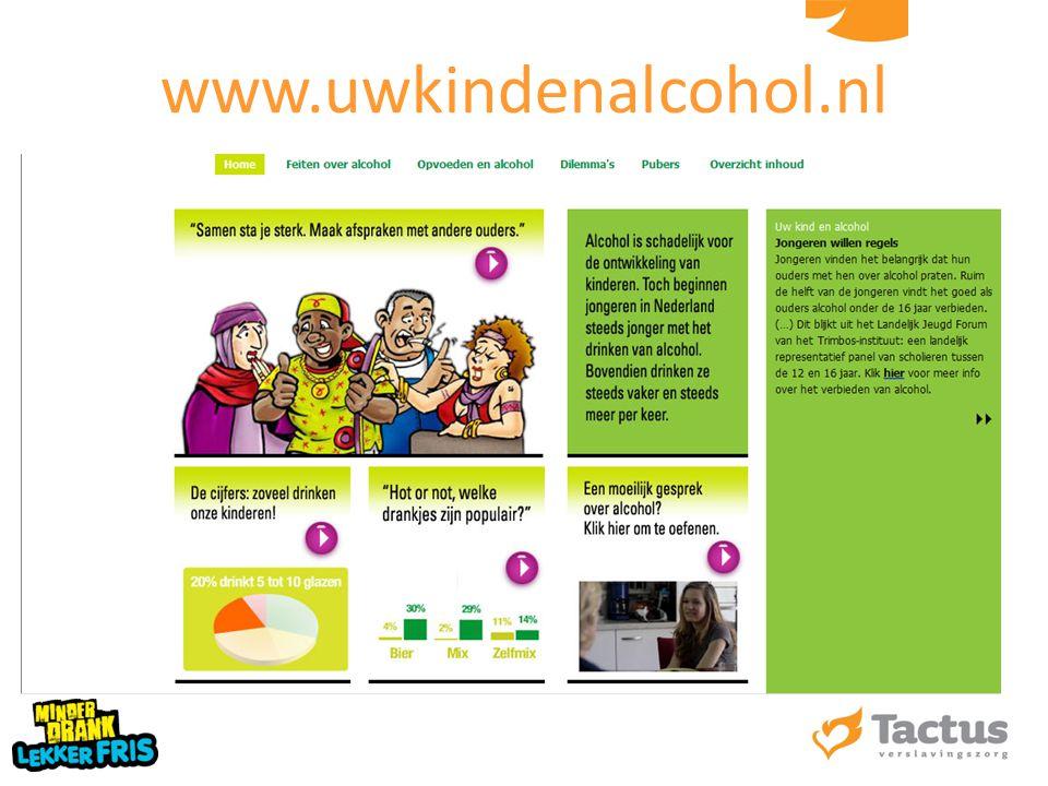 www.uwkindenalcohol.nl 57