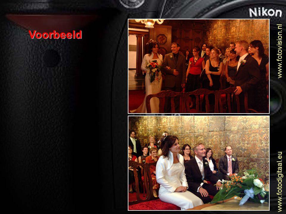 Voorbeeld www.fotovision.nl www.fotodigitaal.eu