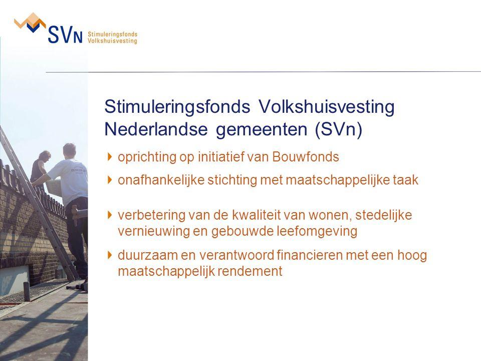 Stimuleringsfonds Volkshuisvesting Nederlandse gemeenten (SVn)