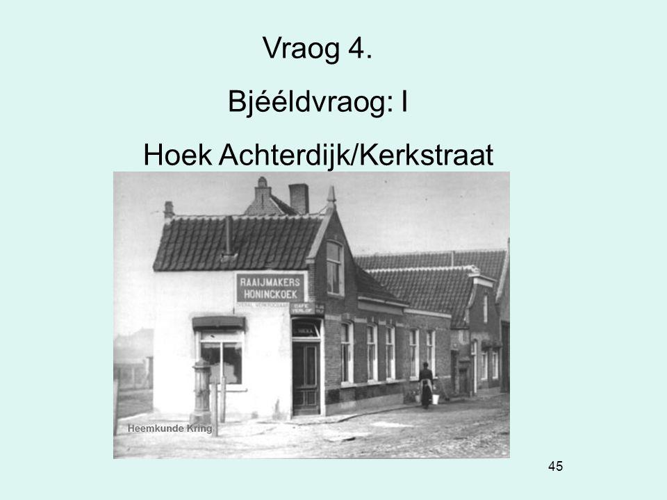 Hoek Achterdijk/Kerkstraat