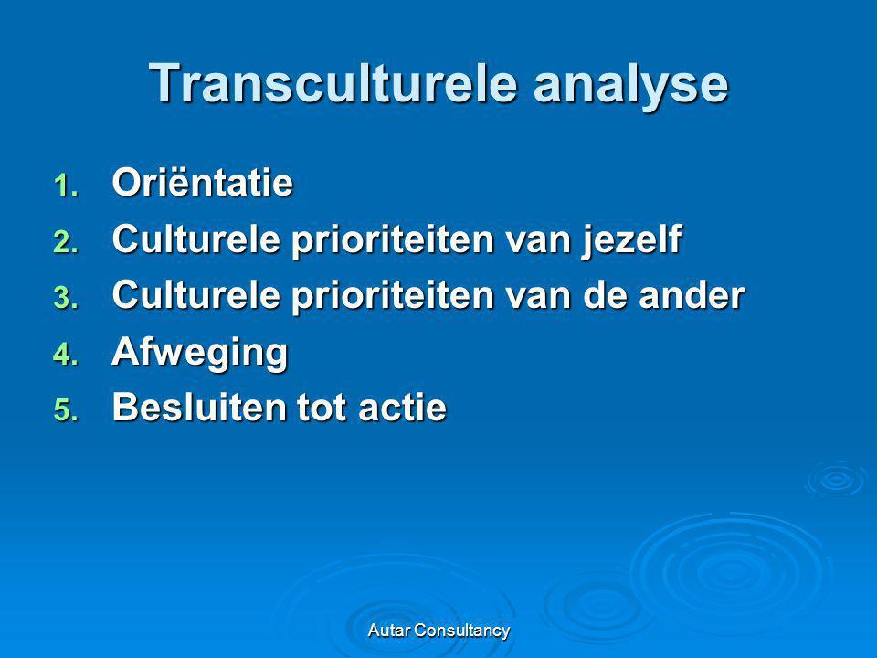 Transculturele analyse