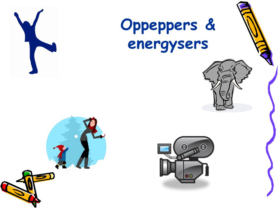 Oppeppers & energysers