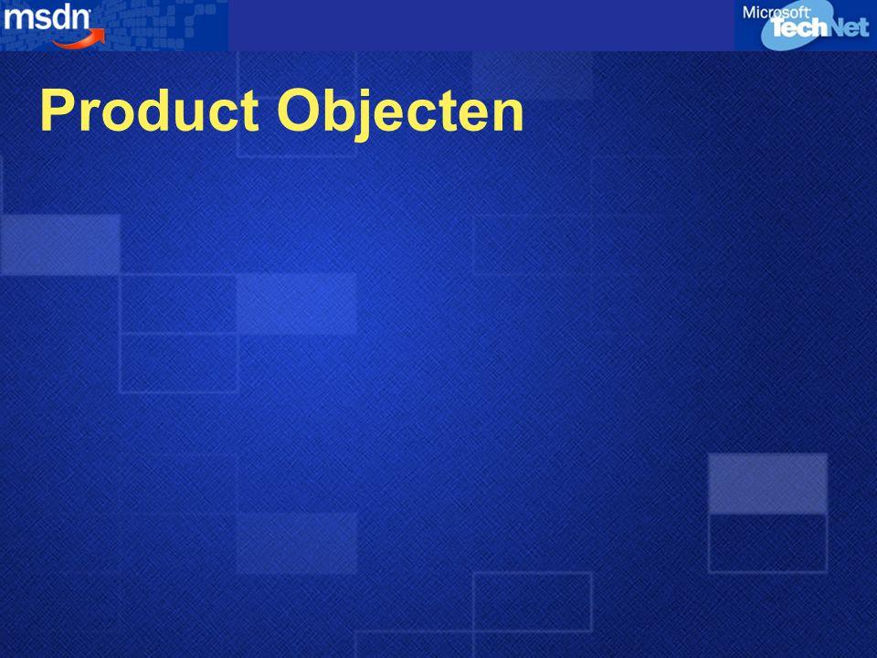 Product Objecten