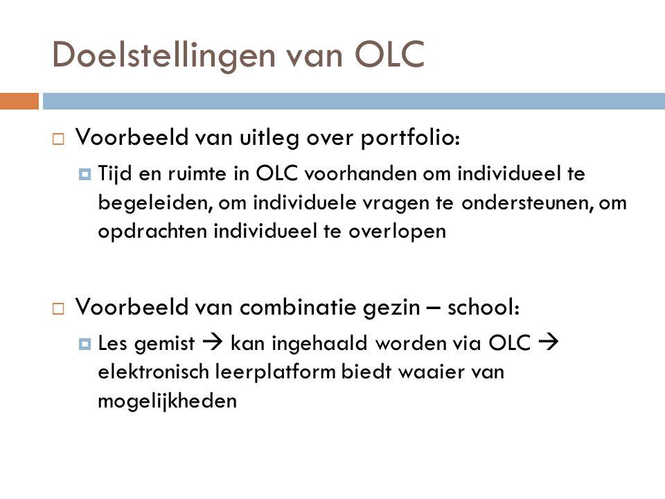 Doelstellingen van OLC