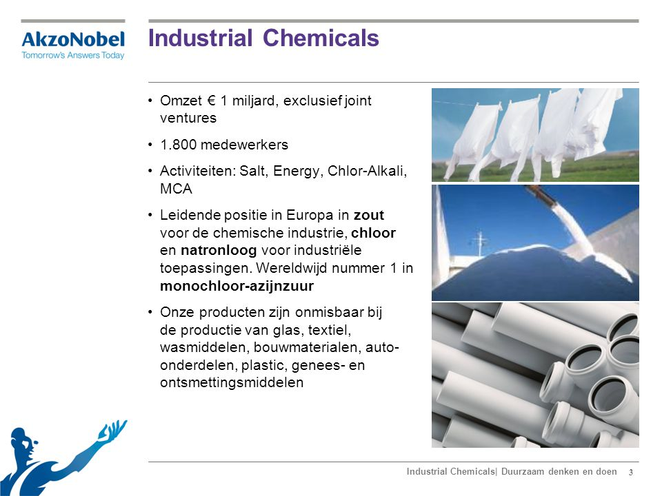 Het business model van Industrial Chemicals
