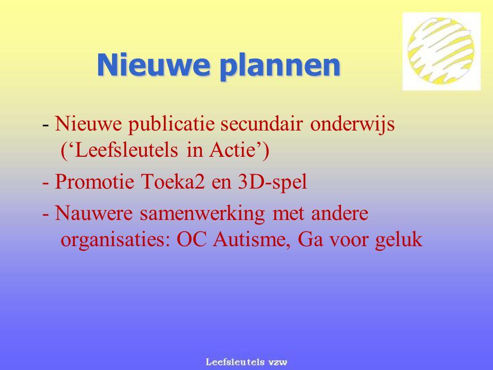 Nieuwe plannen