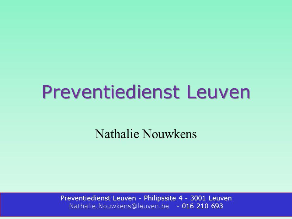 Preventiedienst Leuven