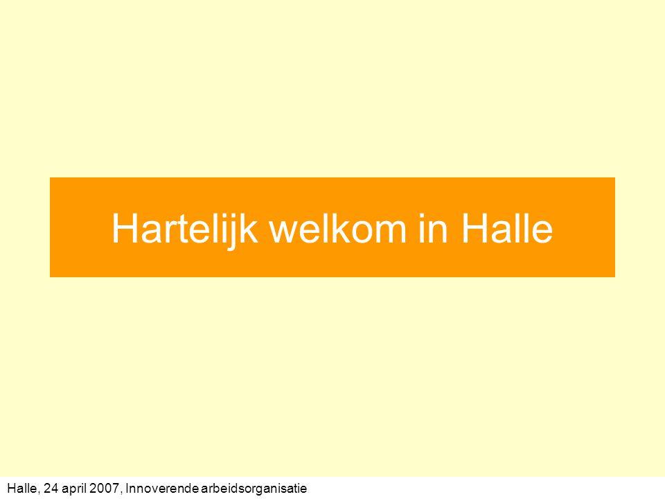 Hartelijk welkom in Halle