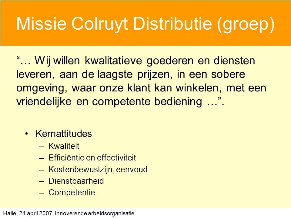Missie Colruyt Distributie (groep)