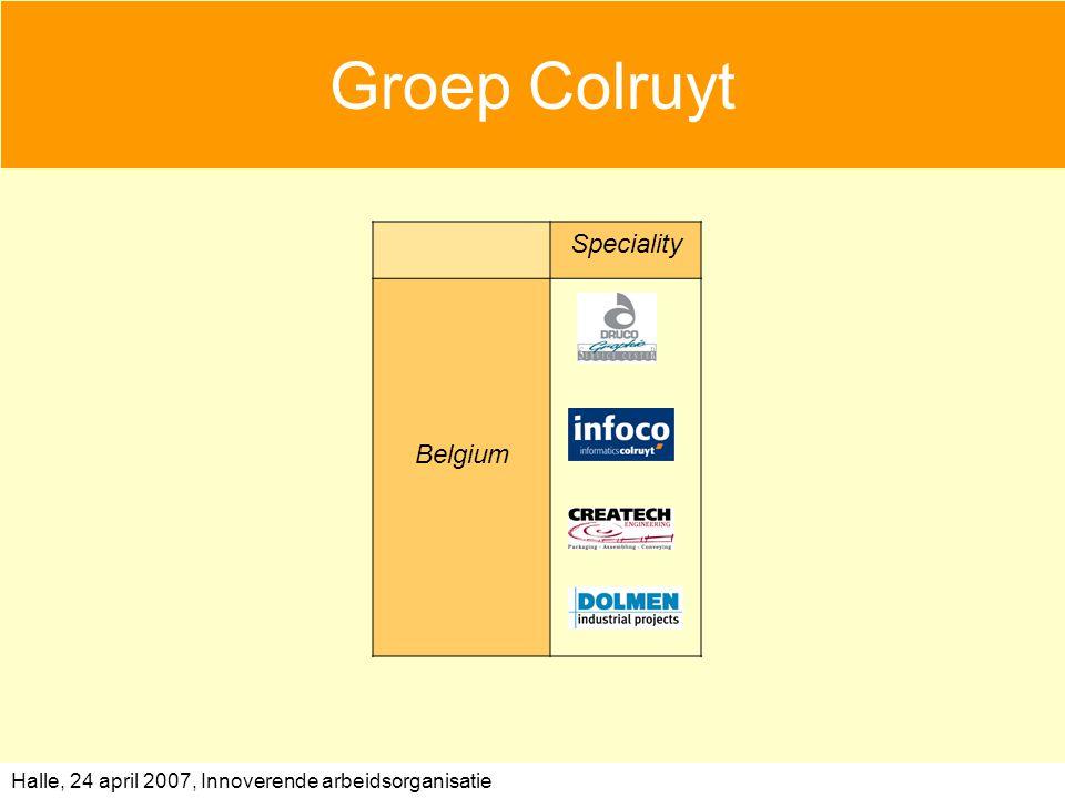 Groep Colruyt Speciality Belgium