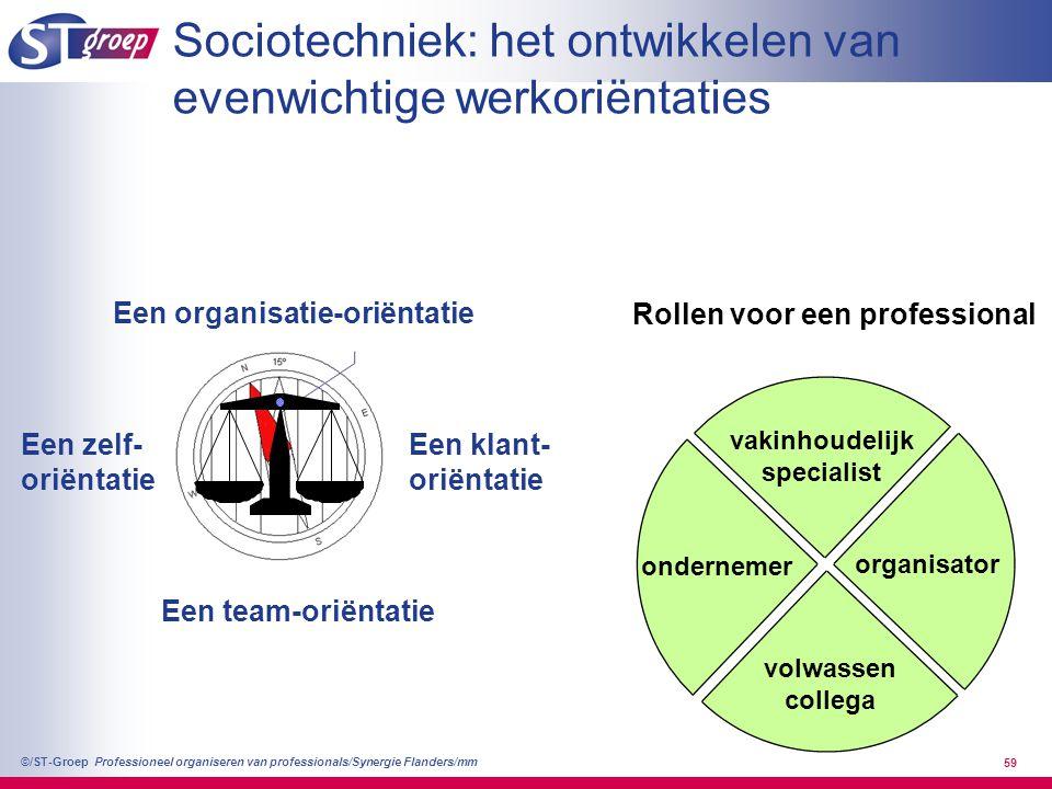 Sociotechniek: het ontwikkelen van evenwichtige werkoriëntaties