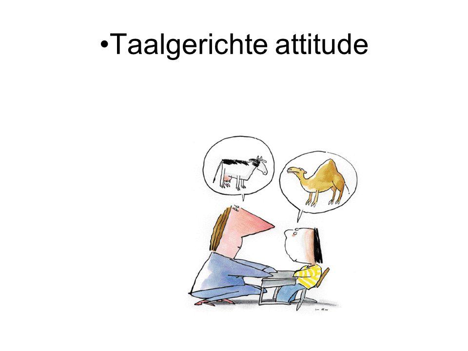 Taalgerichte attitude