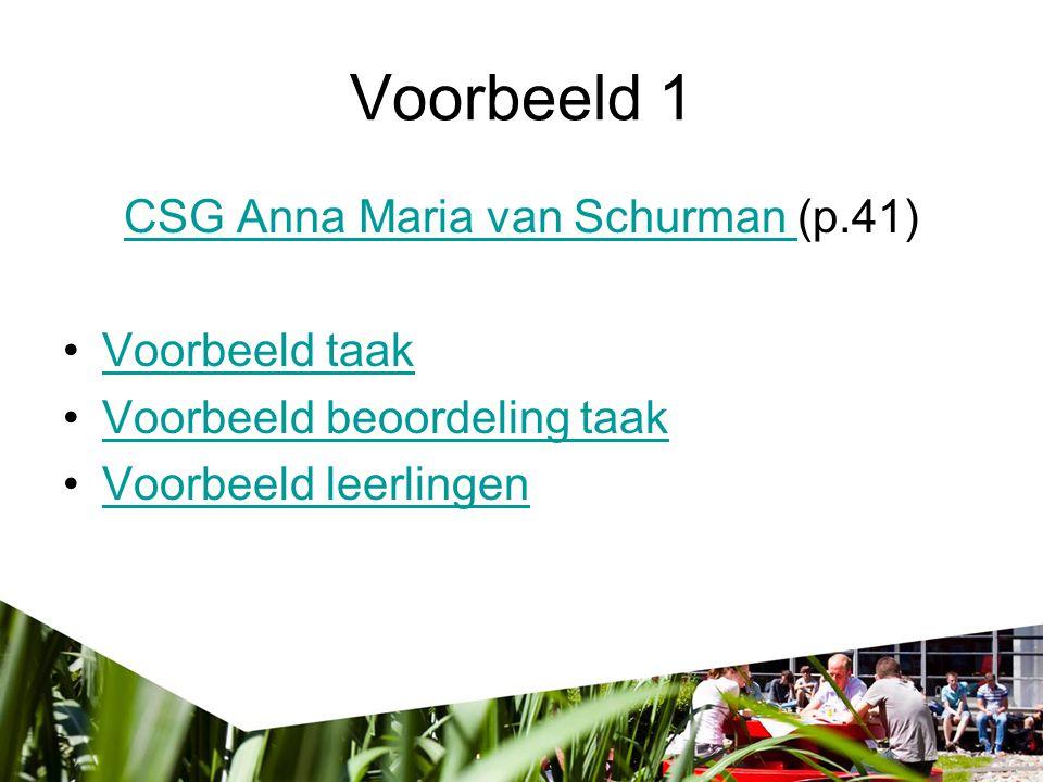 CSG Anna Maria van Schurman (p.41)