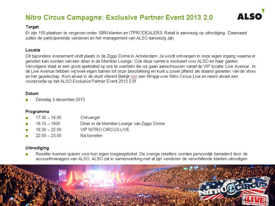 Nitro Circus Campagne: Exclusive Partner Event 2013 2.0