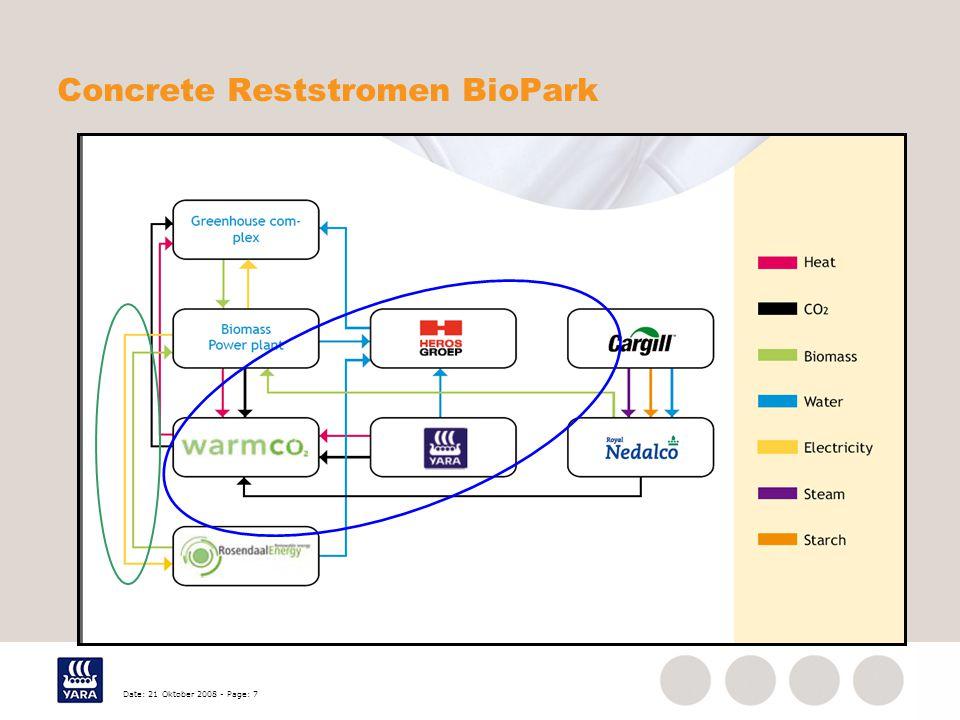 Concrete Reststromen BioPark