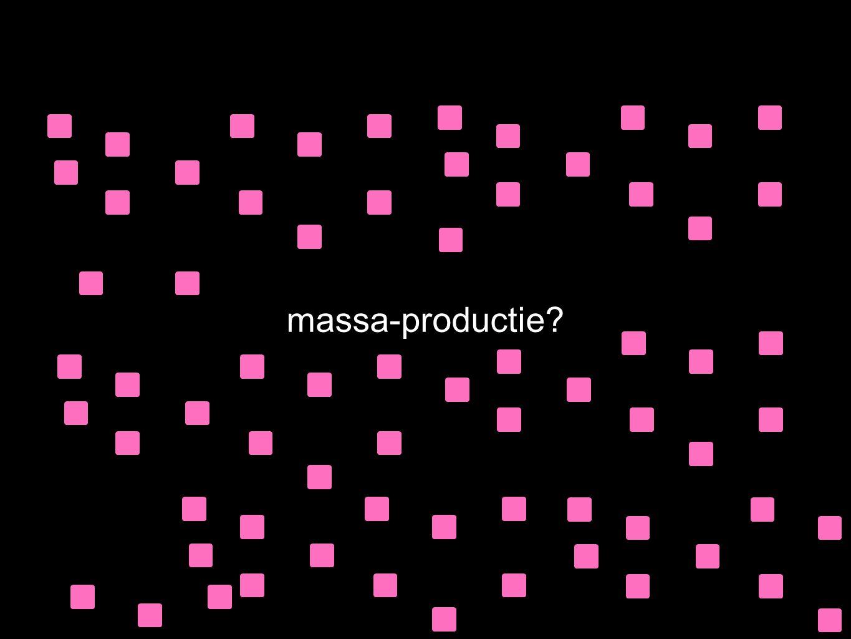 massa-productie