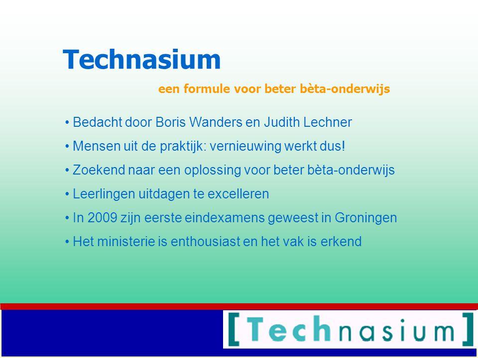 Technasium Bedacht door Boris Wanders en Judith Lechner