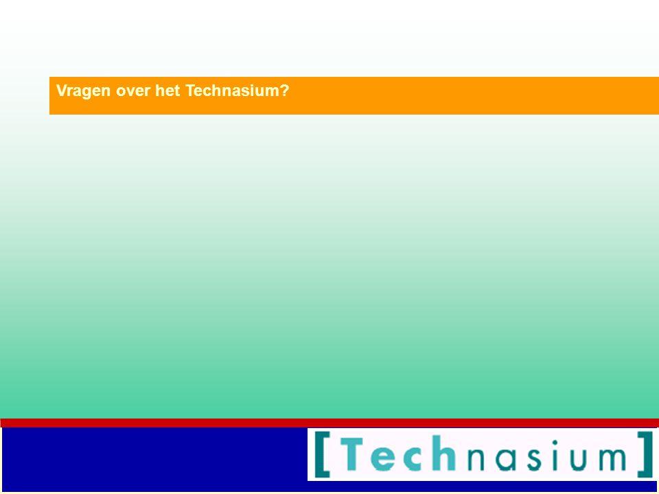 Vragen over het Technasium