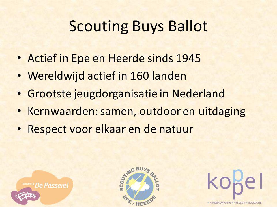 Scouting Buys Ballot Actief in Epe en Heerde sinds 1945
