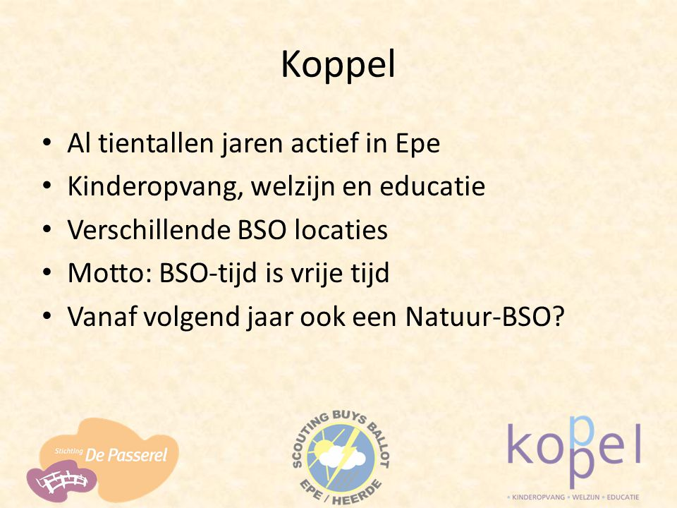 Koppel Al tientallen jaren actief in Epe