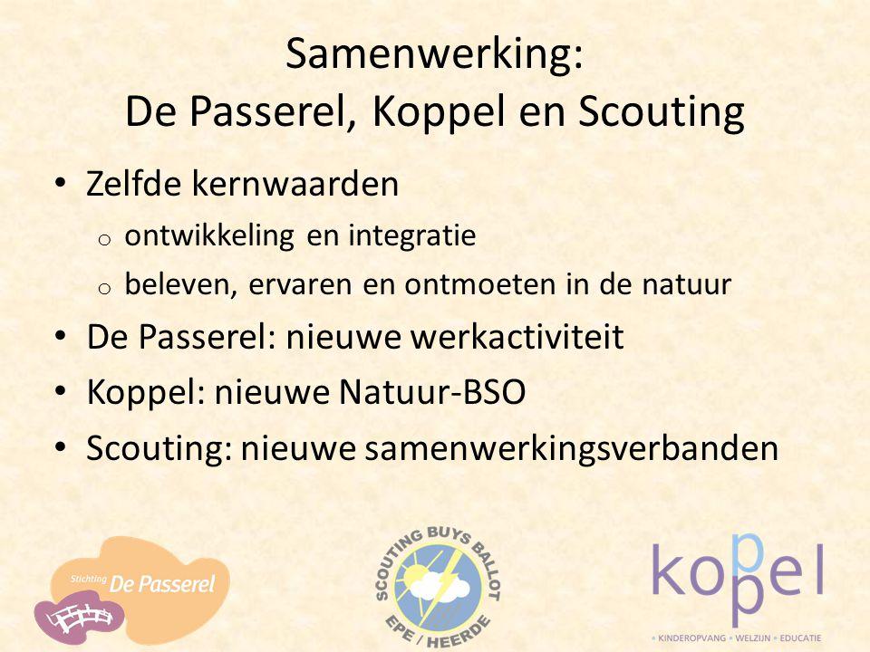 Samenwerking: De Passerel, Koppel en Scouting