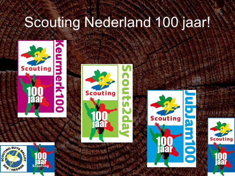 Scouting Nederland 100 jaar!