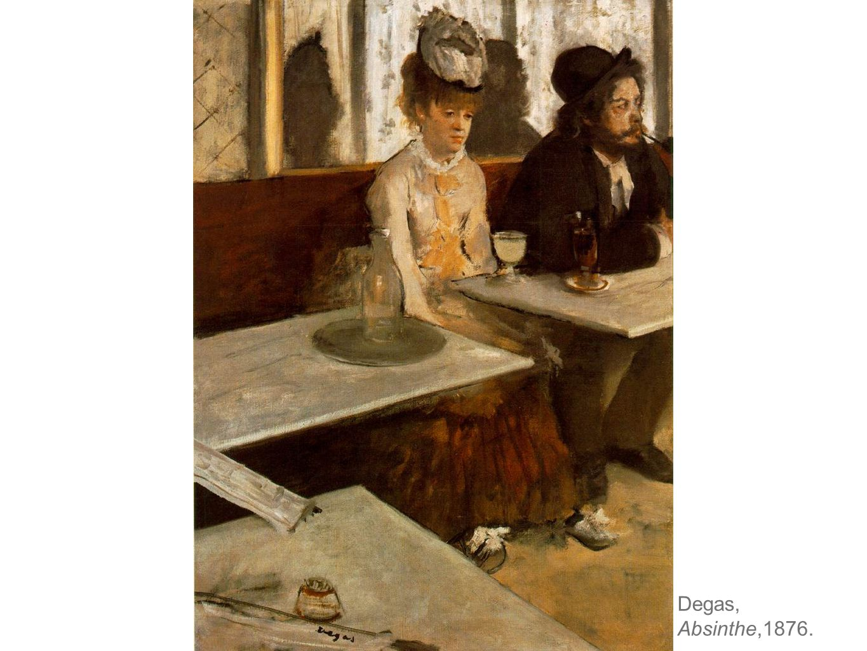 Degas, Absinthe,1876.