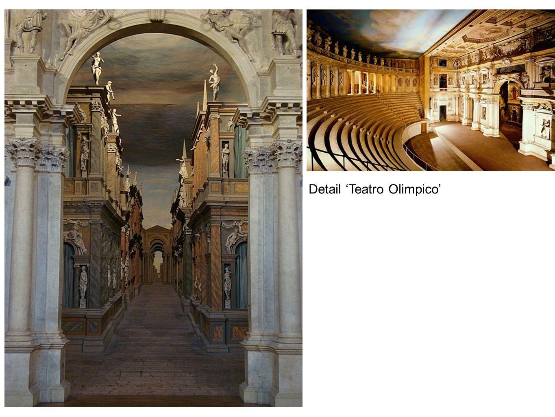 Detail 'Teatro Olimpico'