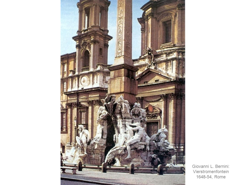 Giovanni L. Bernini: Vierstromenfontein 1648-54, Rome
