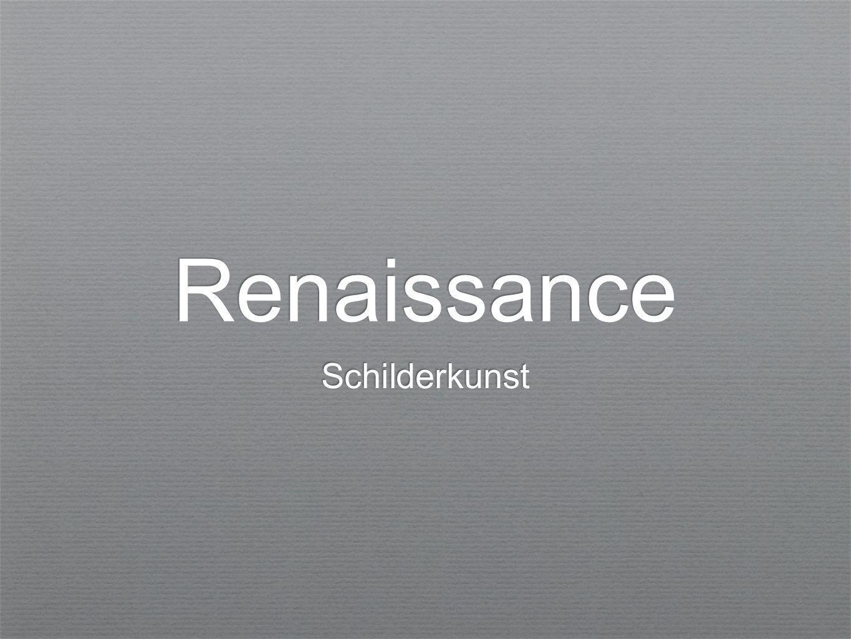 Renaissance Schilderkunst