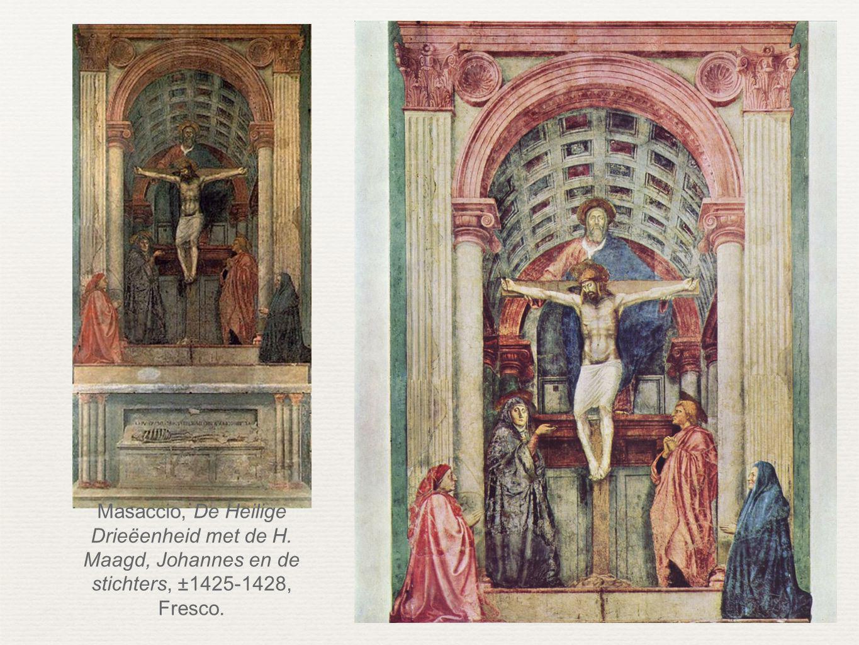 Masaccio, De Heilige Drieëenheid met de H