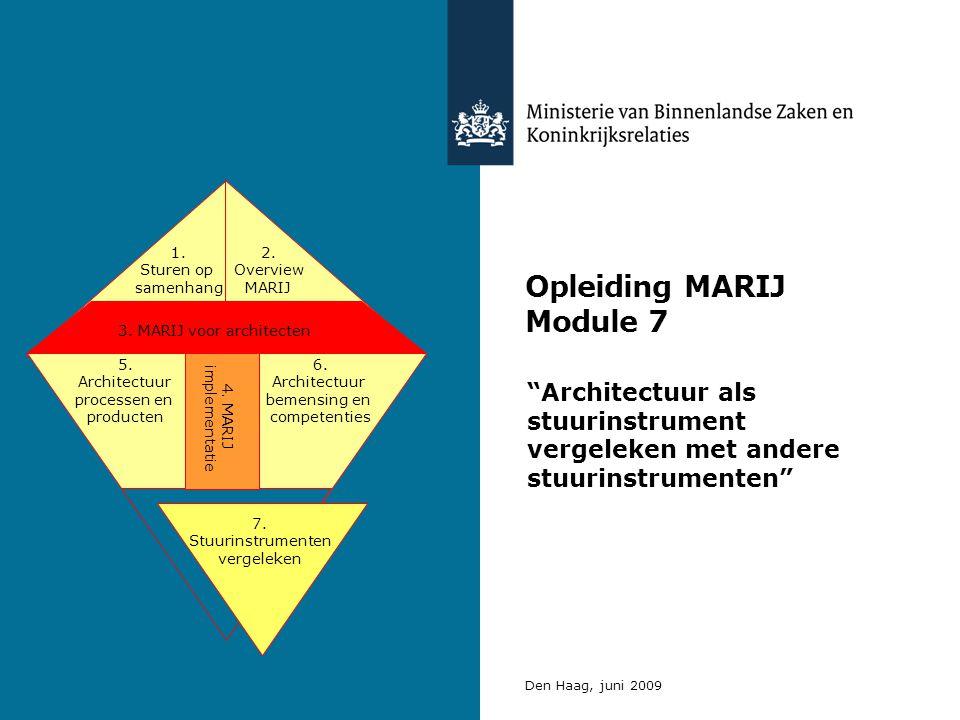 Opleiding MARIJ Module 7