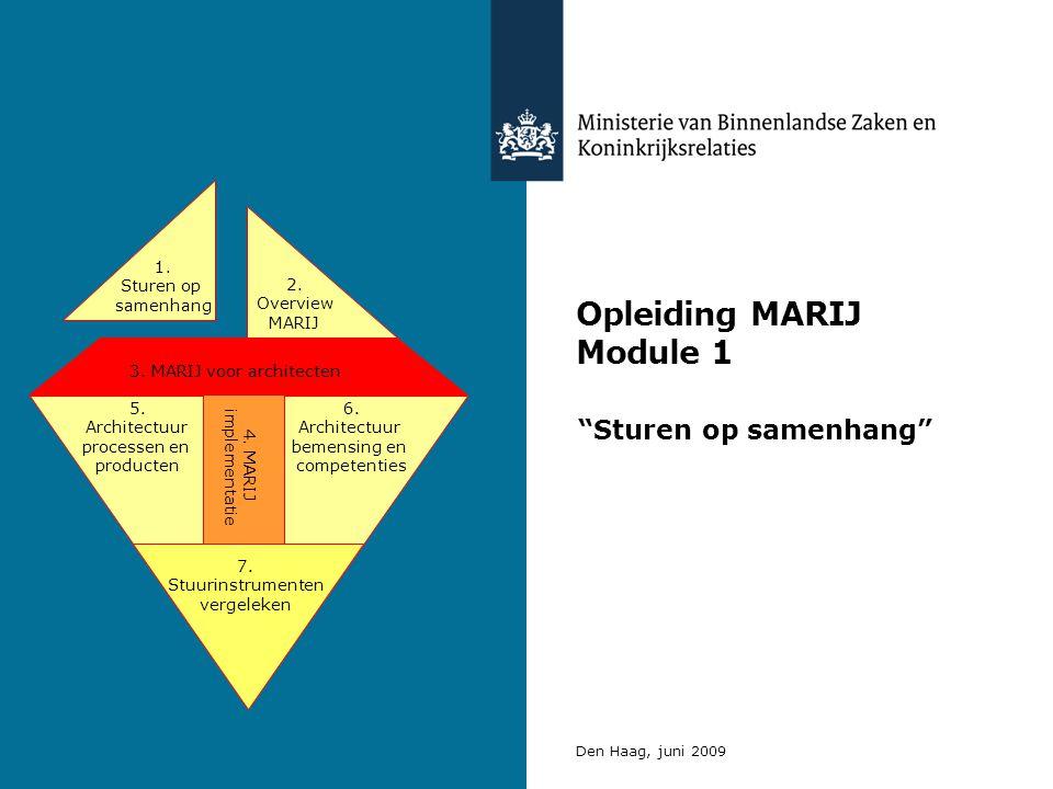 Opleiding MARIJ Module 1