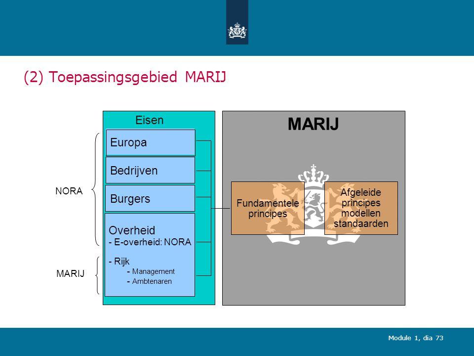 (2) Toepassingsgebied MARIJ