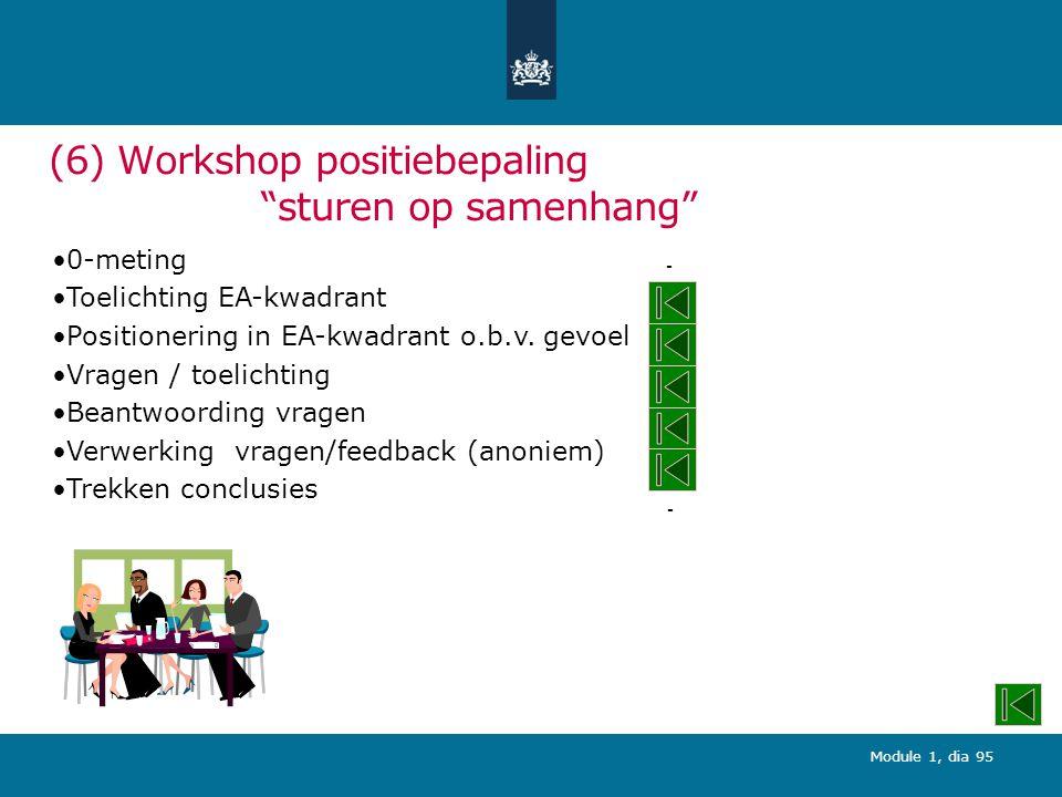 (6) Workshop positiebepaling sturen op samenhang