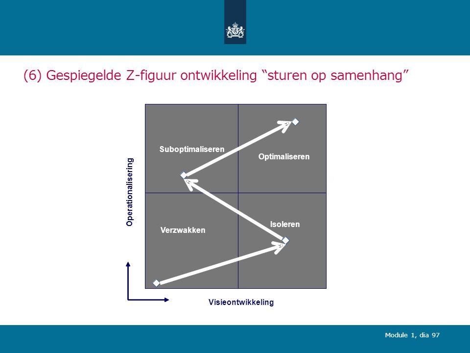 (6) Gespiegelde Z-figuur ontwikkeling sturen op samenhang