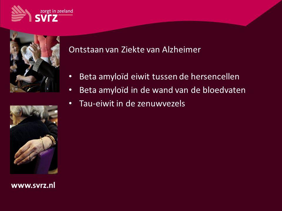 Ontstaan van Ziekte van Alzheimer