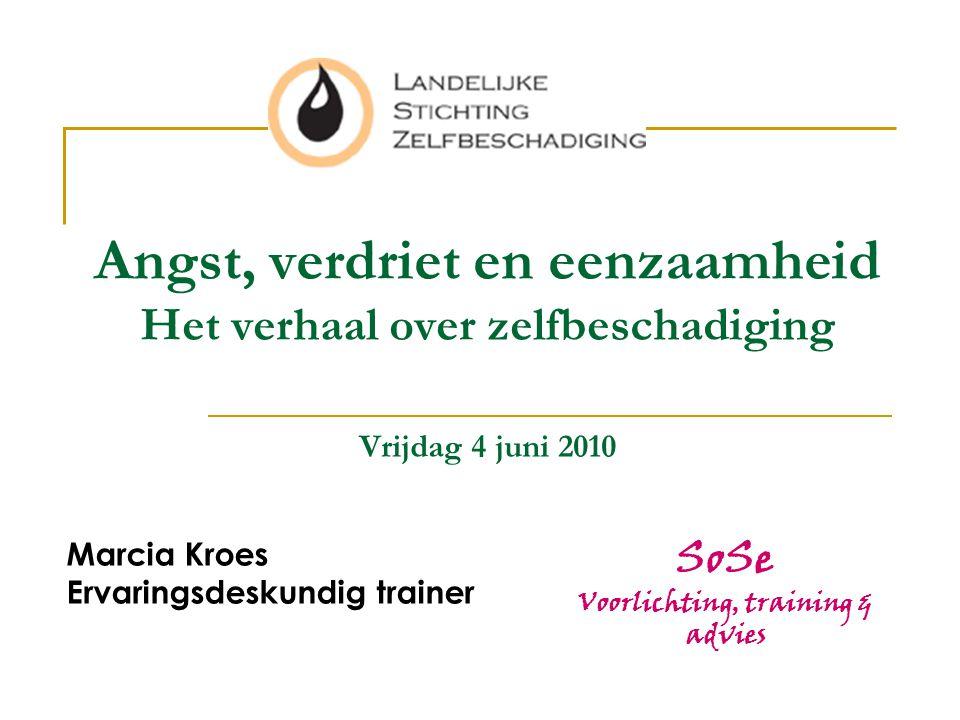 Marcia Kroes Ervaringsdeskundig trainer