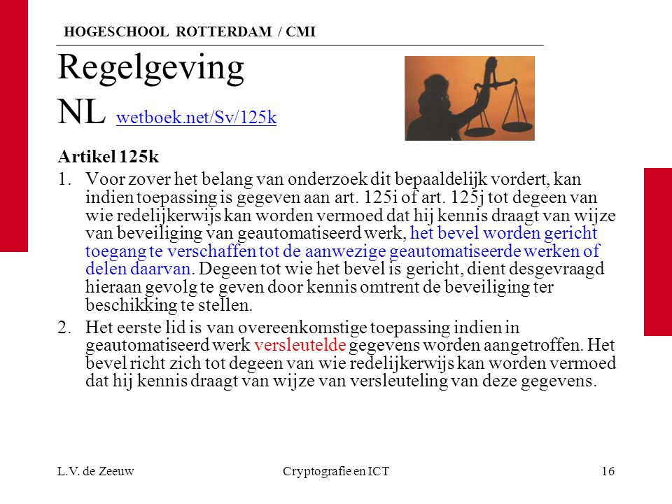 Regelgeving NL wetboek.net/Sv/125k