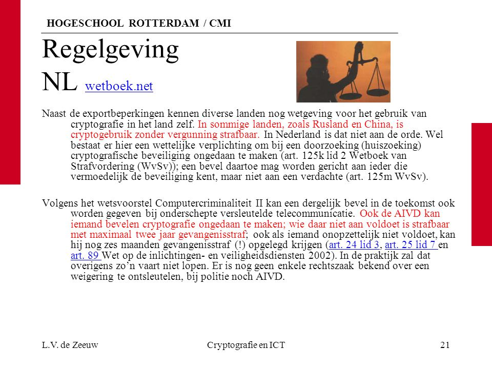 Regelgeving NL wetboek.net