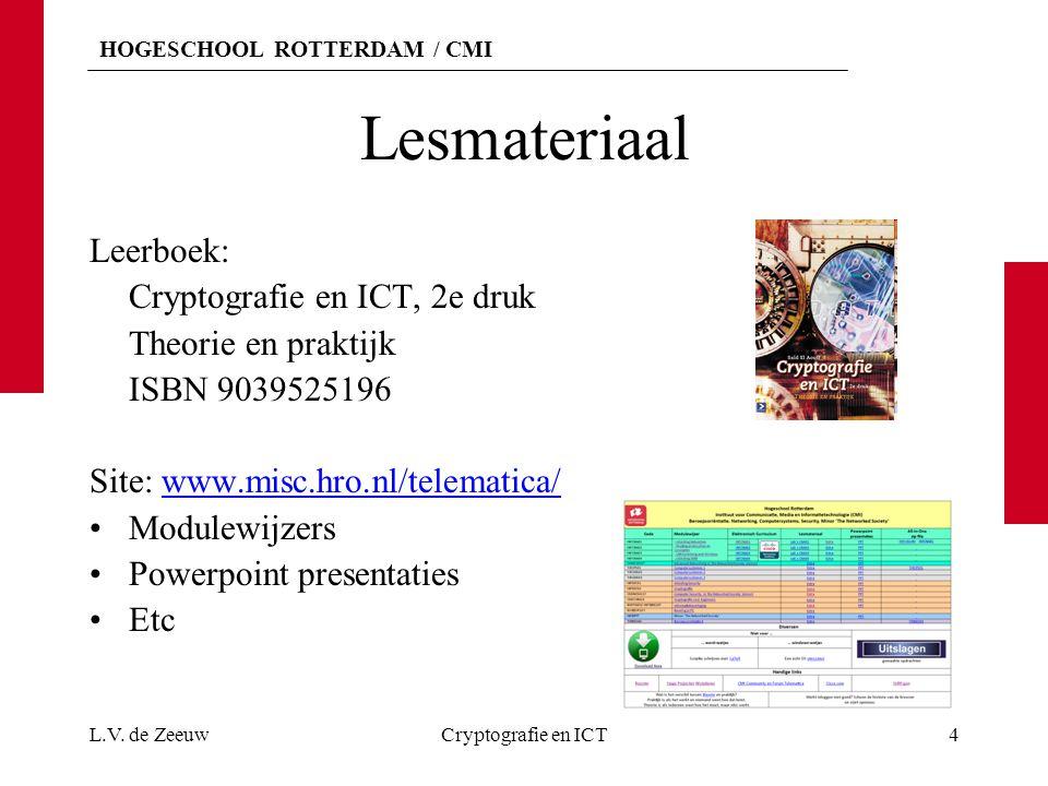 Lesmateriaal Leerboek: Cryptografie en ICT, 2e druk