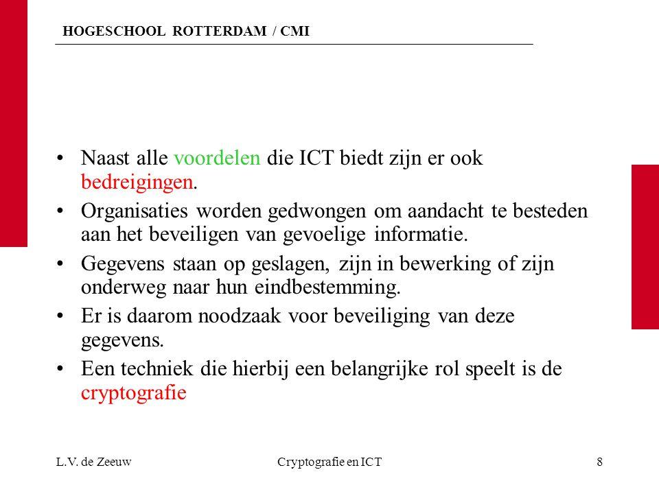 Naast alle voordelen die ICT biedt zijn er ook bedreigingen.