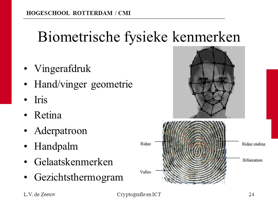 Biometrische fysieke kenmerken